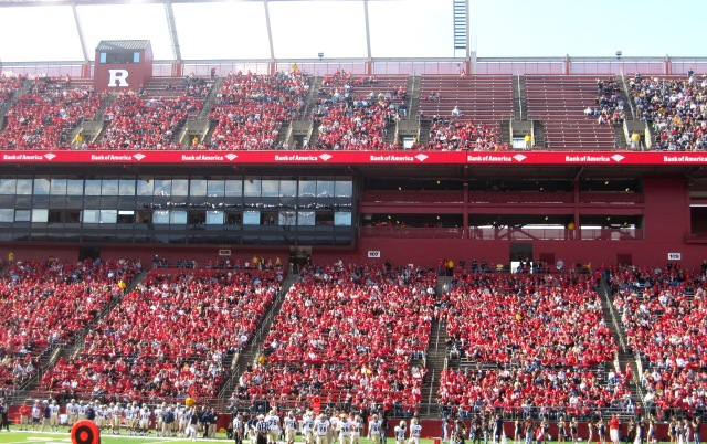 Rutgers Homecoming - RED CHEERS ruled the stadium