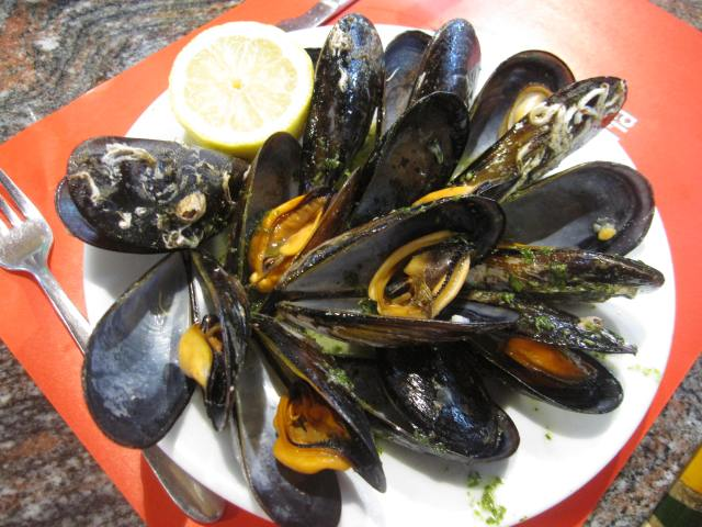 the Most Amazing Mussels I've ever had